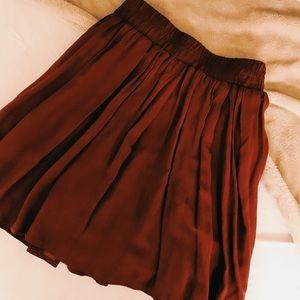 Dresses & Skirts - Brandy Melville maroon skirt